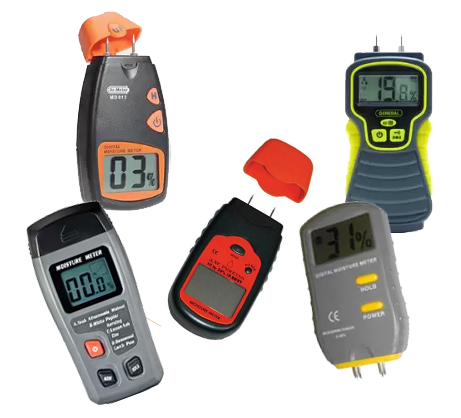 Firewood Moisture Meters determine the moisture content of firewood