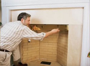smoke guard to fix smoky fireplace