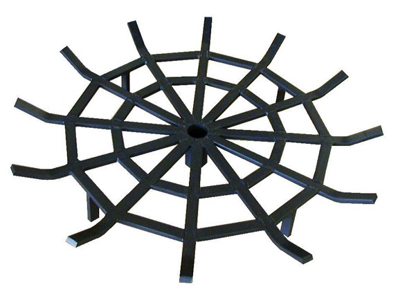 Custom Round Fireplace Grate