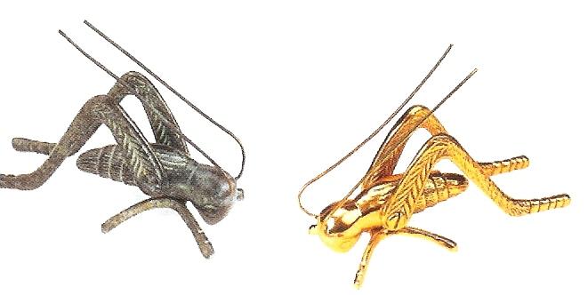 Brass Hearth Crickets