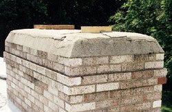 Chimney crown cracks can expand over time and result in expensive repairs.