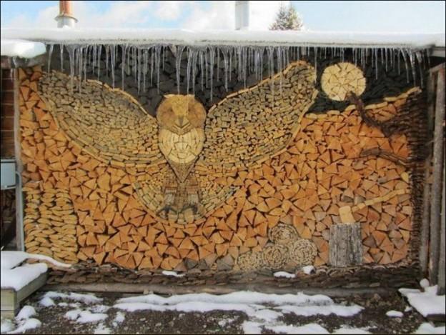 Firewood as Art