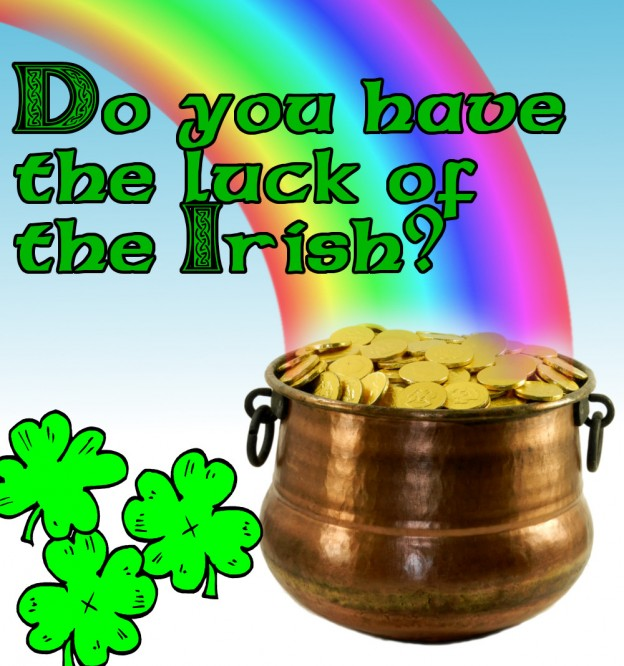 Win a leprechaun's pot of gold!