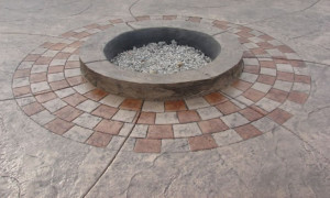 safety circle for fire pit