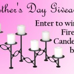 mother's day fireplace candelabra giveaway