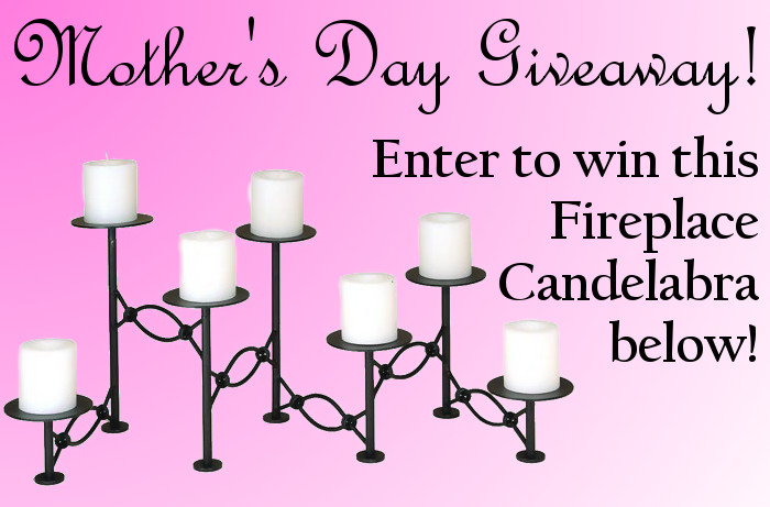 Mother's Day Candelabra Giveaway!