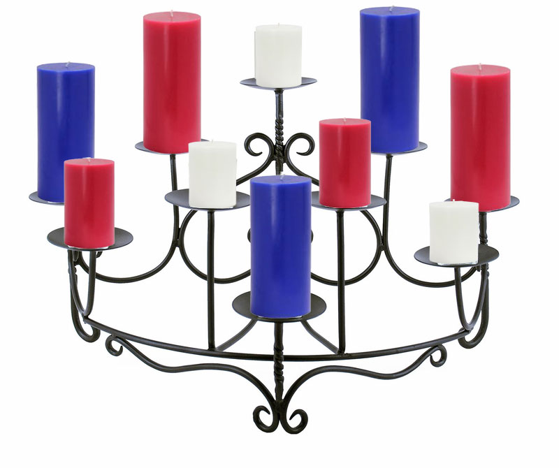 Choosing Candles for Fireplace Candelabra