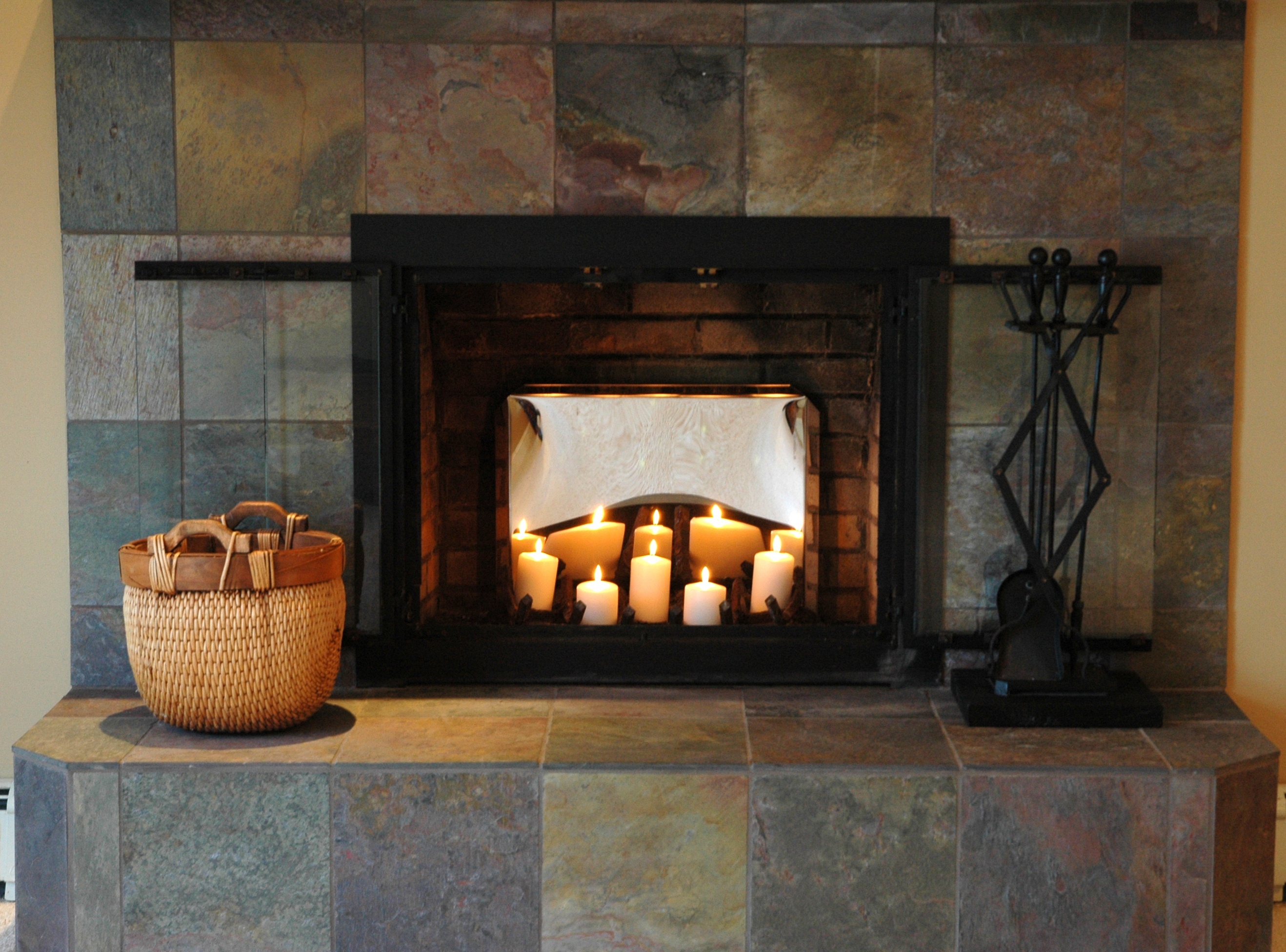 Fireplace Candelabra Decorating Tips