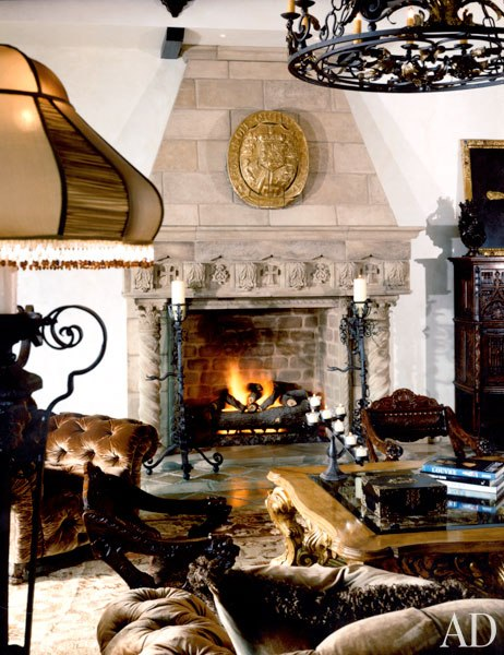Cher's Fireplace