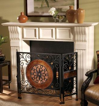 Summer Fireplace Screen