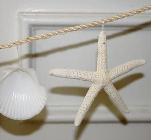 How to Make a Seashell Garland