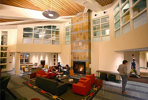 Bates College Frank's Hall Residence Lounge