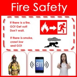 Child Fire Safety Infographic – Free