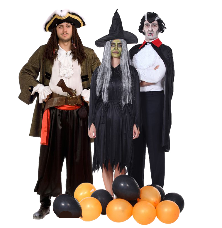 Pirate? Witch? Vampire? Which one is the best seller adult Halloween costume?