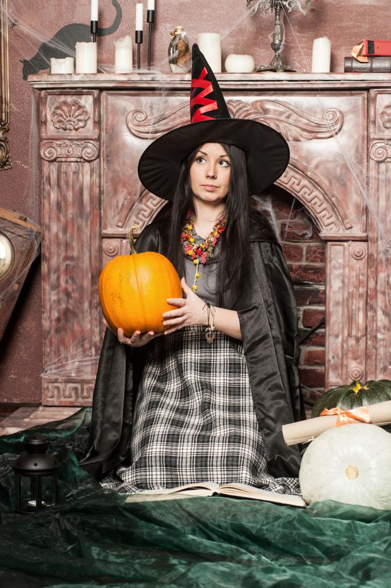 Witch costumes were the best-selling adult Halloween costumes in 2012.