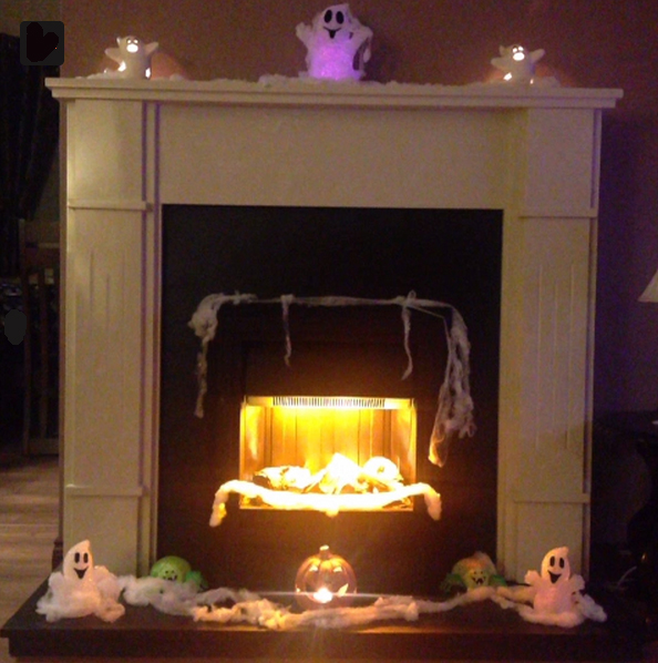 Ghostly fireplace hearth and mantel. Photo courtesy http://twitter.com/naomicheska