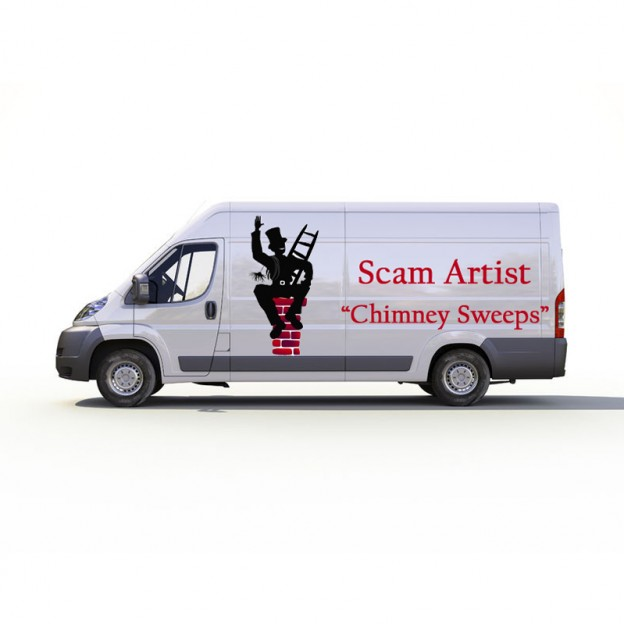 Avoid chimney cleaning scams
