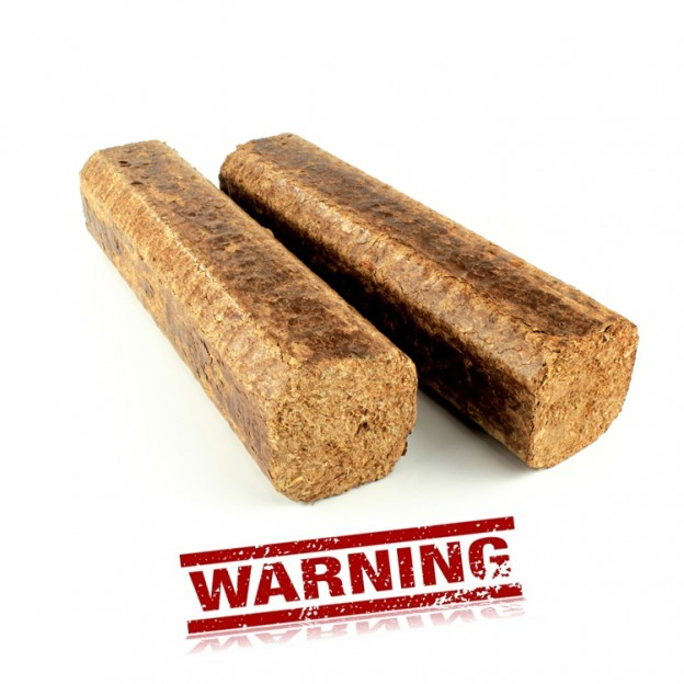 Although artificial fire logs offer convenience