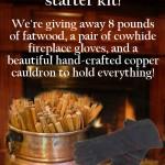 Fire Starter Kit Giveaway