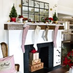 Handmade Christmas Fireplace Decorations