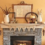 How to Decorate the Fireplace for Thanksgiving