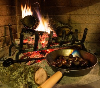 How to Roast Chestnuts in a Fireplace