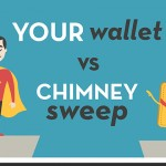 Do you really need a chimney sweep? Your wallet versus a chimney sweep.