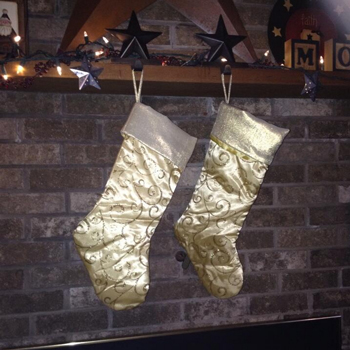 Fireplace Stockings Were Hung