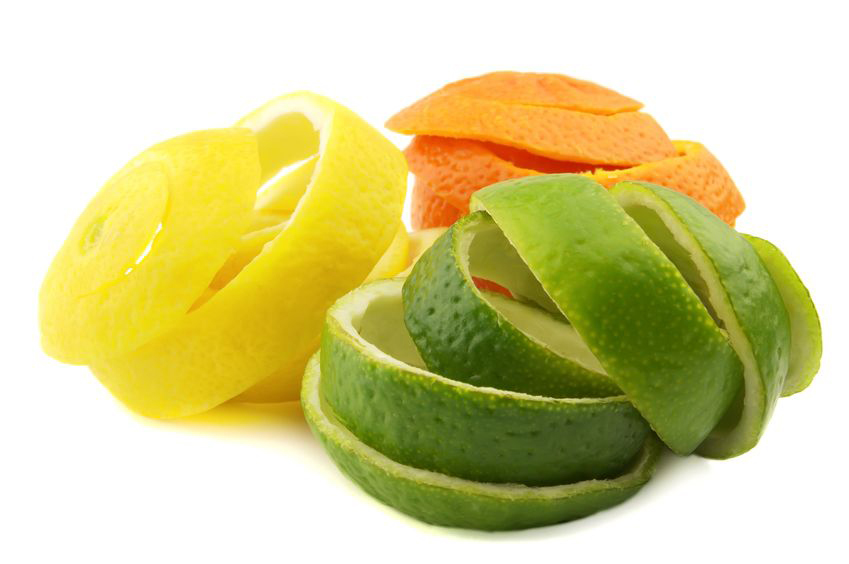Add citrus peelings to enjoy your home fireplace more.