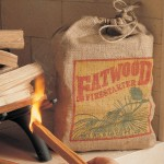 Use fatwood to start your upside down fire.