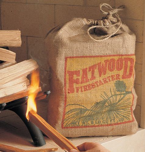 Fatwood – Fireplace Fire Starter