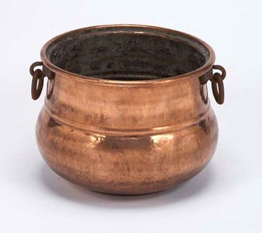Copper Cauldron for How to Make Leprechaun's Pot of Gold