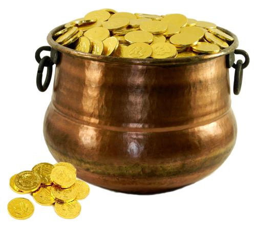 Make Leprechaun Pot of Gold