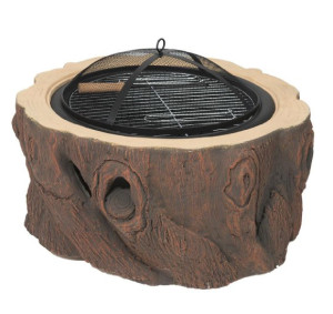 Alpine Flame Fire Pit with Grill