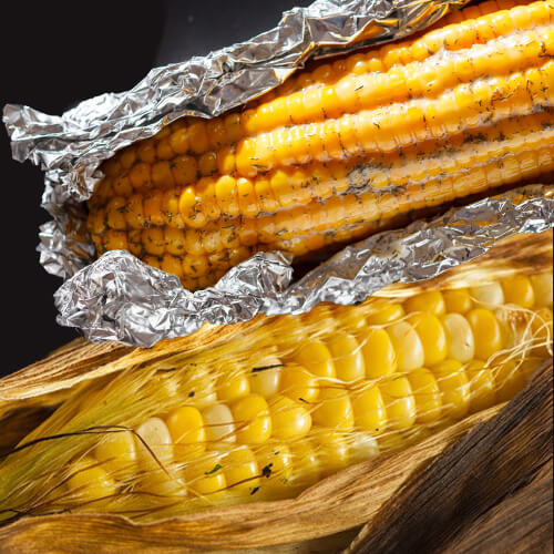 How to Roast Corn in a Fire