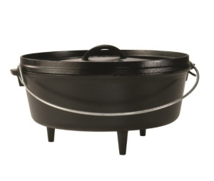 Cast Iron Dutch Oven with Legs