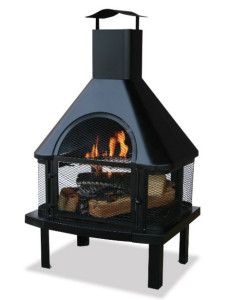 Fireplace with Grill