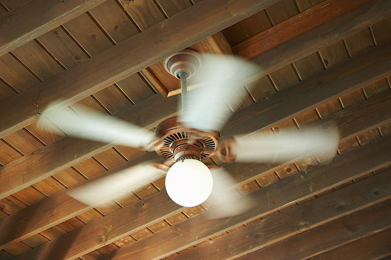 One of 5 Ways to Save Energy: Reverse the rotation of ceiling fans