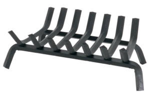 Welded Bar Stock Fireplace Grate