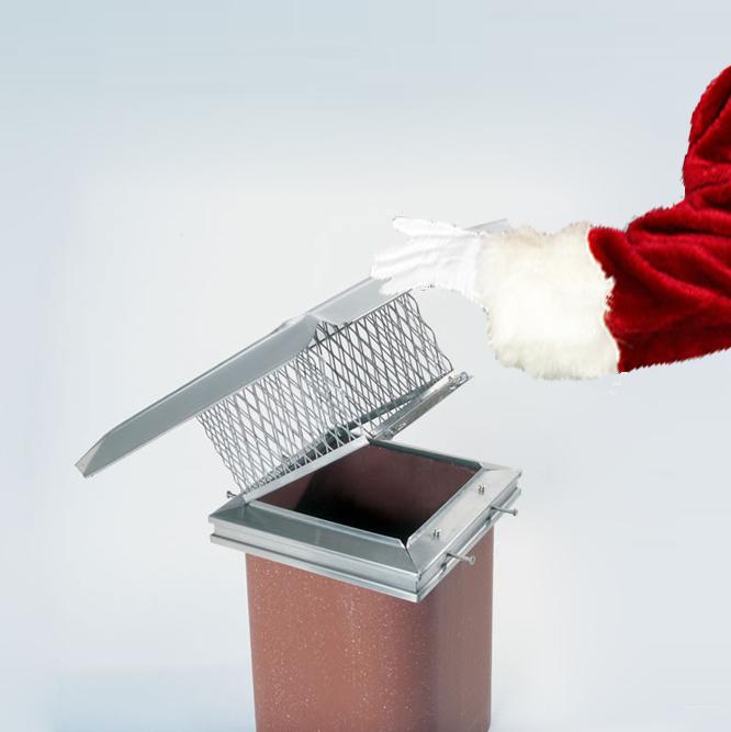 Easy Clean chimney cap