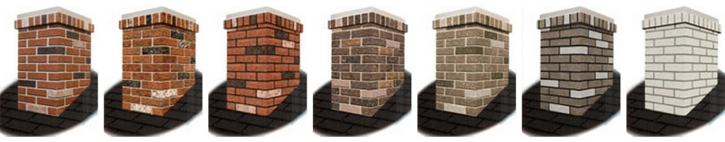 Solve the No Chimney for Santa problem with a chimney surround in your choice of brick color.