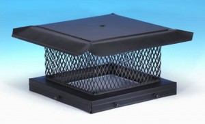 Spark Arrestor Chimney Cap for California and Wildfire Prone Areas