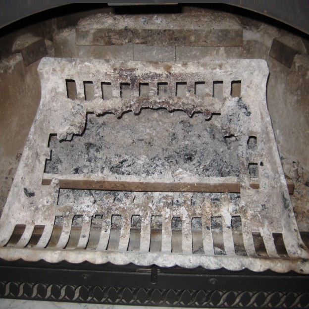 Stop Fireplace Grate Melt Down