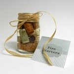 Wine Cork Fire Starters - How to make cork fire starters.