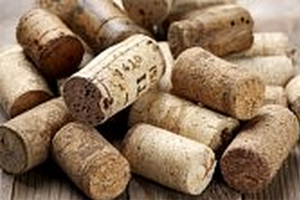 Use natural cork for cork fire starters.