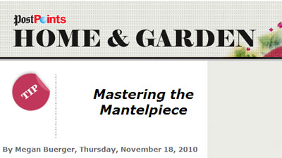 Mastering the Mantelpiece by Megan Buerger