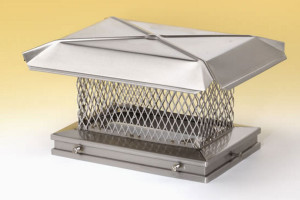 Gelco chimney cap with small mesh