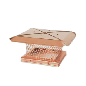 Single Flue Chimney Cap - Gelco Copper