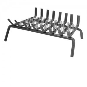 ember retaining fireplace grate