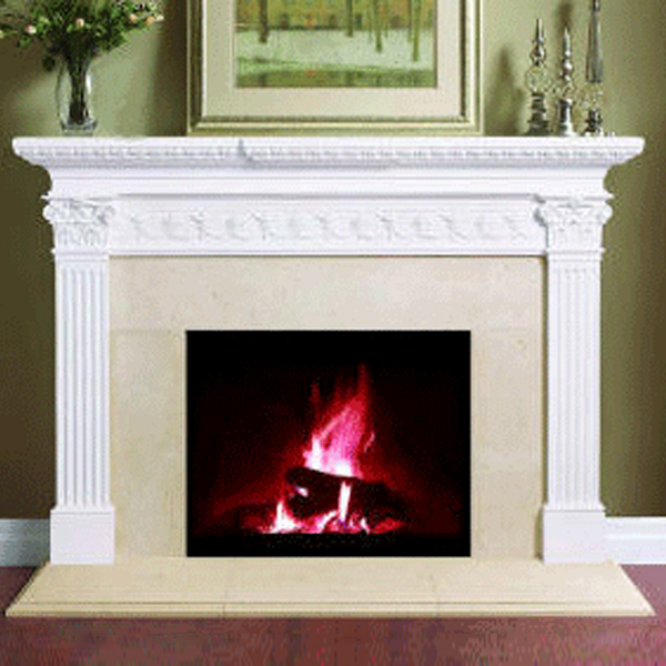 3 plus 1 Mantel Decorating Trick